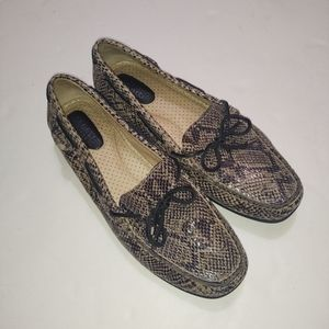 Sperry Snake Skin Top Sider Boat Shoe 7